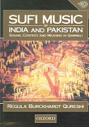 Sufi Music of India and Pakistan Book