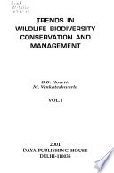 Trends in Wildlife Biodiversity Conservation and Management