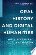 Oral History and Digital Humanities