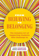From Behaving to Belonging