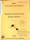 Southwest Lincoln County Wastewater Systems