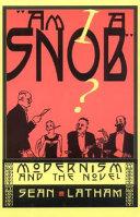 """""""Am I a Snob?"""""""