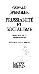 Prussianité et socialisme