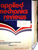 Applied Mechanics Reviews
