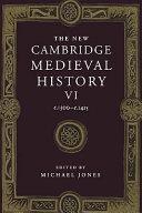 The New Cambridge Medieval History: Volume 6, C.1300-c.1415