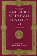 The New Cambridge Medieval History  Volume 6  C 1300 c 1415