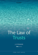 The Law of Trusts, 10th Ed.