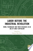 Download Labor Before the Industrial Revolution Pdf