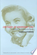 Critique of Everyday Life: Foundations for a sociology of the everyday Pdf/ePub eBook