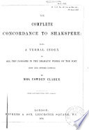 The Complete Concordance to Shakespeare Book PDF