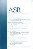 American Sociological Review Book PDF
