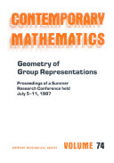 Geometry of Group Representations