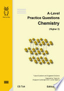A-Level Practice Questions Chemistry Ed H2.2