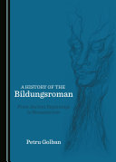 Pdf A History of the Bildungsroman Telecharger