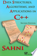 Data Structures, Algorithms, and Applications in C++