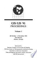 GIS/LIS '91