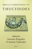 Brill s Companion to Thucydides