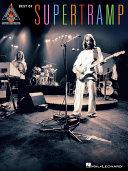 Pdf Best of Supertramp (Songbook) Telecharger