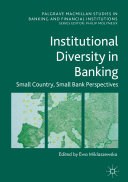 Pdf Institutional Diversity in Banking Telecharger