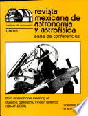 Dynamic Astronomy In Latin America