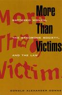 Pdf More Than Victims