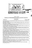 Sedimentology of Egypt Book