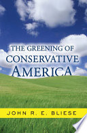 The Greening Of Conservative America