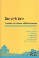 Diversity in Unity: Visions from Psychology and Behavioral Sciences