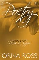 Poetry III  Long Light Book PDF