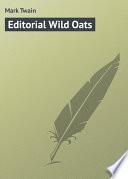 Editorial Wild Oats Online Book