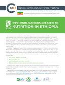 IFPRI publications related to nutrition in Ethiopia [Pdf/ePub] eBook
