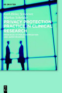 Privacy Protection Practice in Clinical Research