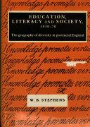 Education  Literacy and Society  1830 70