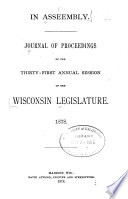 Journal Of Proceedings Of The Session Of The Wisconsin Legislature