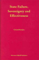 State Failure, Sovereignty And Effectiveness