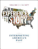 Experience History Vol 1  To 1877 Book PDF