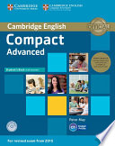 Compact Advanced Student S Book Pack Student S Book With Answers With Cd Rom And Class Audio Cds 2