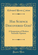 Has Science Discovered God