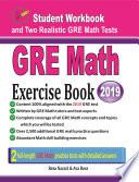 GRE Math Exercise Book Book