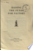 Raising The Funds For Victory