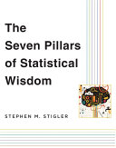 The Seven Pillars of Statistical Wisdom