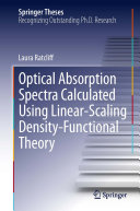 Optical Absorption Spectra Calculated Using Linear-Scaling Density-Functional Theory Pdf/ePub eBook