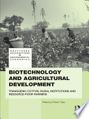 Biotechnology and Agricultural Development