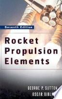 Rocket Propulsion Elements Book