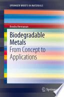 Biodegradable Metals Book