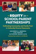 Equity in School Parent Partnerships