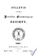Bulletin of the Brooklyn Entomological Society Book