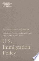U.S. Immigration Policy
