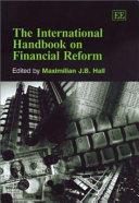 The International Handbook On Financial Reform Book PDF