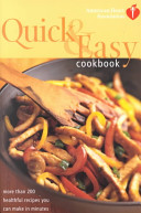 American Heart Association Quick   Easy Cookbook Book PDF